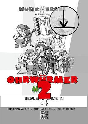 Ohrwürmer #2 / Begleitstimme in C als DOWNLOAD