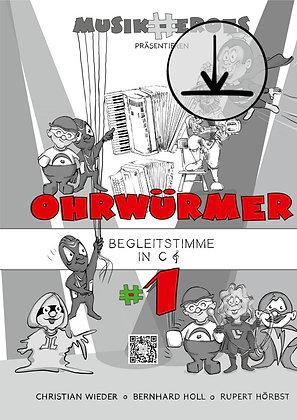 Ohrwürmer #1 / Begleitstimme in C als DOWNLOAD