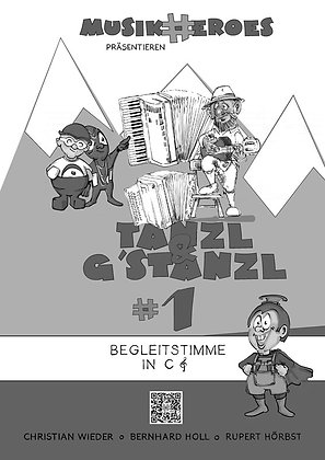 Tanzl & G'stanzl #1 / Begleitstimme in C als DOWNLOAD