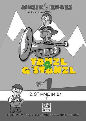 Tanzl & G'stanzl #1 / 2.Stimme in Bb als DOWNLOAD