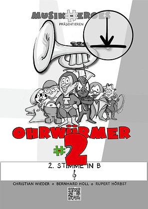 Ohrwürmer #2 / 2.Stimme in Bb als DOWNLOAD