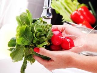 Dicas para a higienização de frutas e verduras