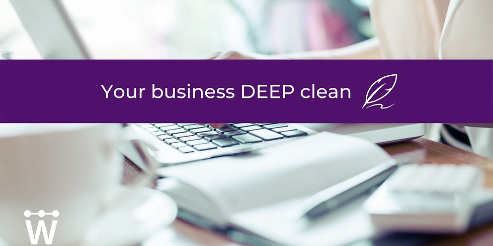 Your business DEEP clean 💫