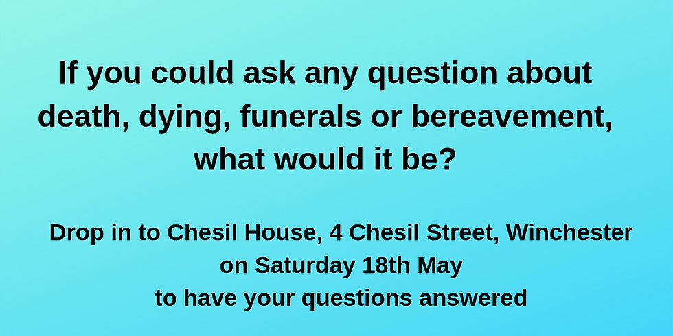 Dying and Funerals - Your Questions Answered