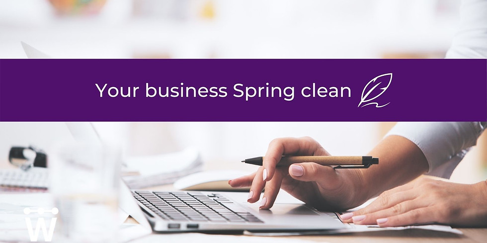 Your business Spring clean 💡