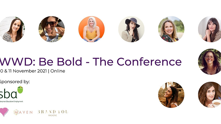 WWD: Be Bold - The Conference