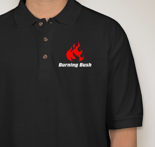 Burning Bush Short Sleeve Polo