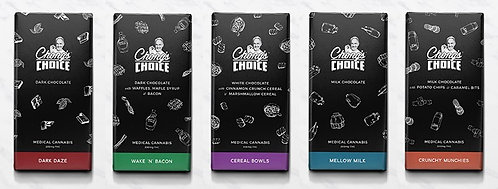Chong's Choice Mellow Milk Chocolate Bar - 200mg