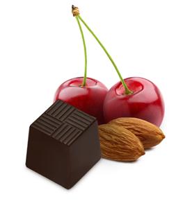 Stokes Cherry Almond Dark Chocolate Truffle - 20mg