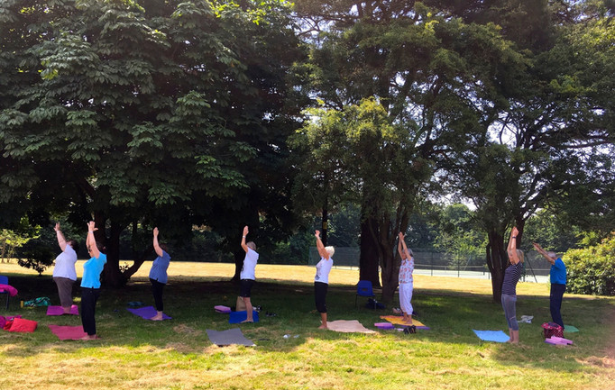 Milford on Sea Gentle Yoga class