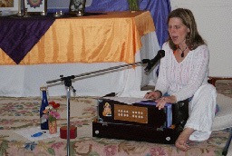 Kirtan at Retreat