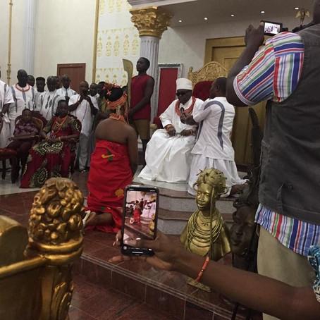 Exclusive Pictures: Princess Ivie Erediauwa Weds Ahabue Ezekiel (Chief Anenih's Grandson)