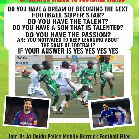 Oloke Soccer Academy in Benin: Giving Opportunities to Edo Children