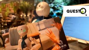 遠隔操作でロボットが接客?!『分身ロボットカフェ DAWN』をレポート!