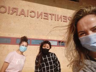 Retomamos el voluntariado presencial en el Centro Penitenciario Las Palmas II el 5 de mayo de 2021