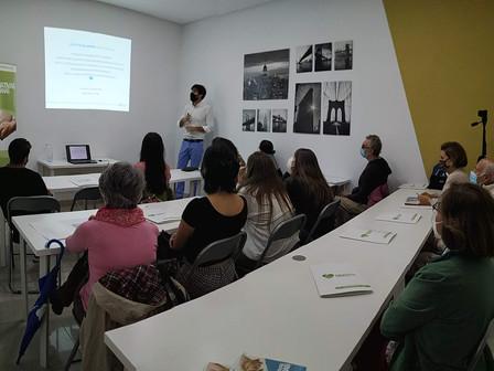 Sesiones formativas presenciales y online para el voluntariado financiadas por la Fundación Disa
