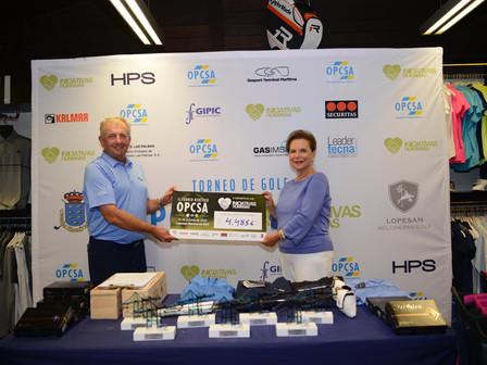 OPCSA celebra un torneo solidario de golf en beneficio de Iniciativas Humanas