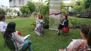 Sesión formativa a nuestros voluntarios de Tenerife a cargo de Cristina Valido (27/05/2021)