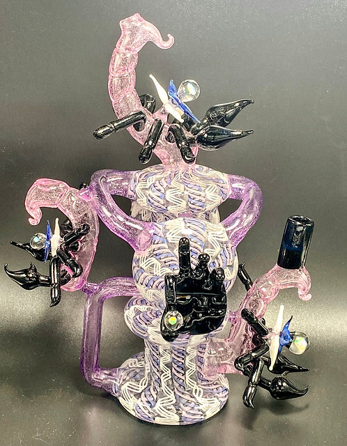 Eka Glass Headiest Piece of the Year Double Disc Recycler