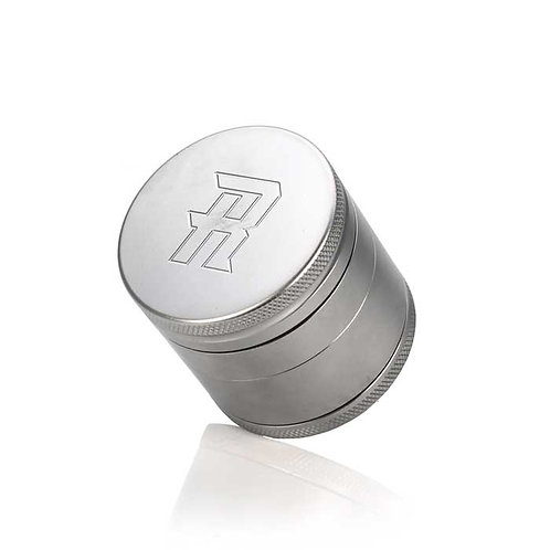 """Complete 2.5"""" XL Herb Grinder – 100% Stainless Steel w/ All Plates"""