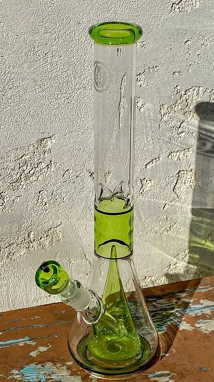 OJ Flame Green Collins Beaker 14mm