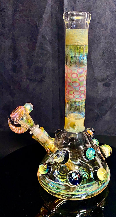 Hops x B $ Collab - Fumed with Worked Marbles