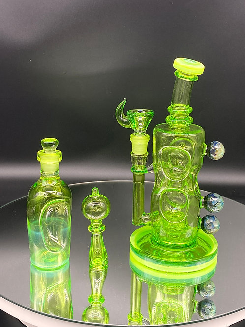 Davin Titland FULL COLOR Custom Rig with Marbles