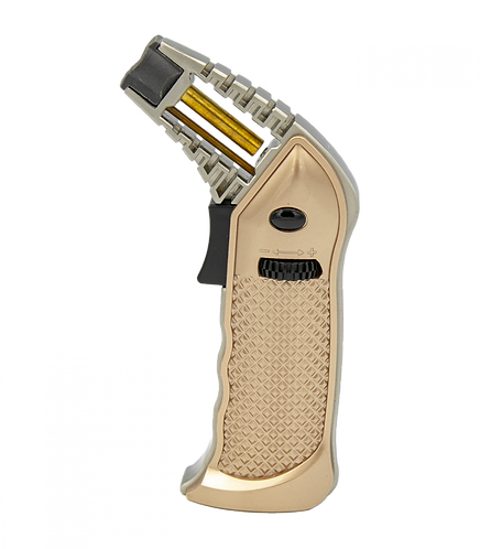 Special Blue Full Metal Pro Butane Torch GOLD