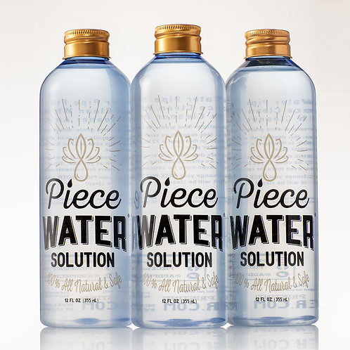 Piece Water 12 Oz. 3 Pack