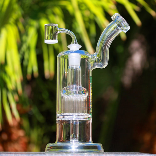 Leisure Glass Double Bubbler 13 Arm to 6 Arm 14mm