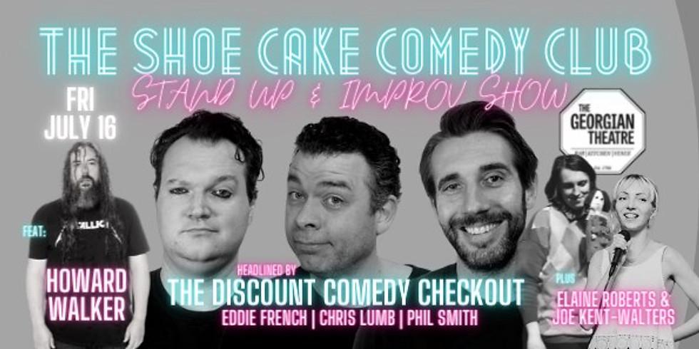 Shoecake Comedy, Stockton