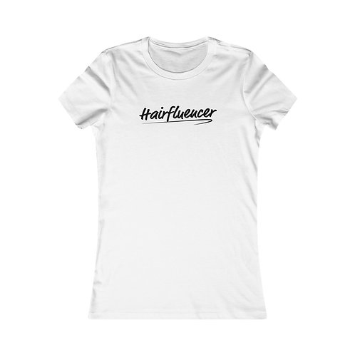 Hairfluencer Tee - Fitted