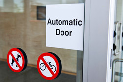 Government Building Automatic Door