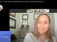 Carmen Debates District 2 Opponent on Decaturish's Twitch Show