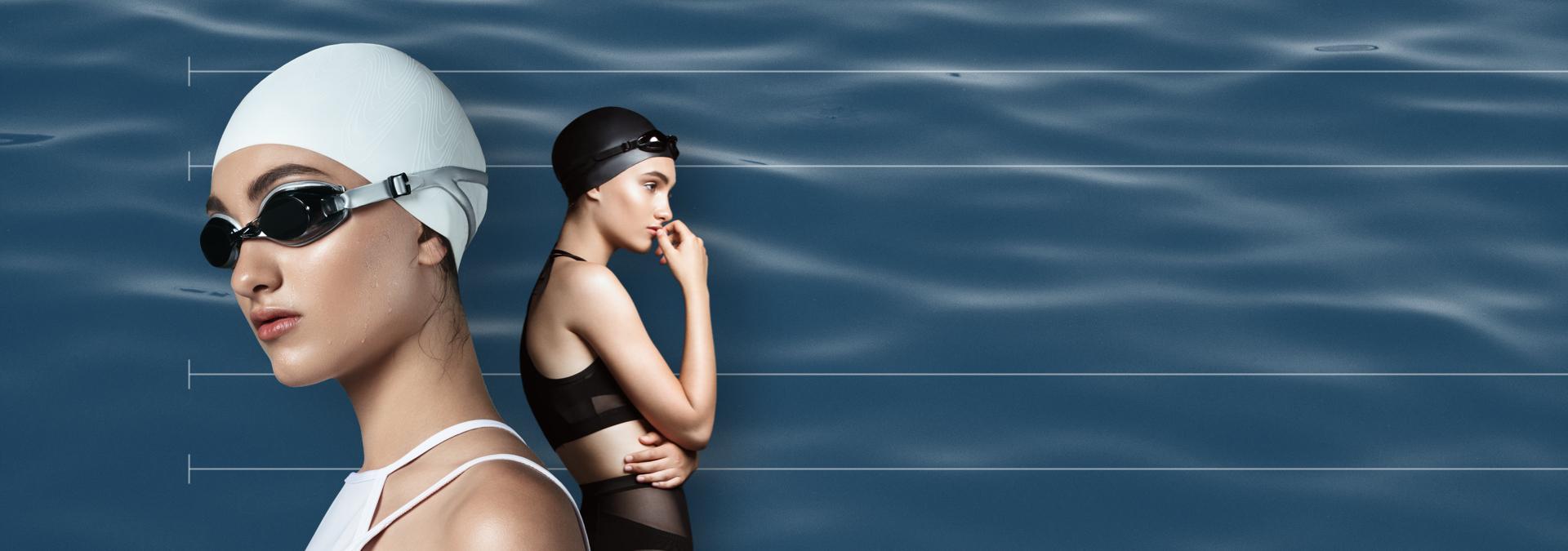 vrouwelijke zwemmers