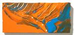River Terrace  acrylic on wood 110×250×15mm