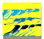 Tamagawa Bunsui  acrylic on wood 200×225×15mm