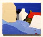 カレンという村 a village called Cullen  acrylic on panel 273×220