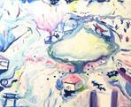 Home  acrylic on canvas 455×380
