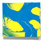 North confluence  acrylic on wood 200×225×15 mm