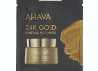 24K Gold Mineral Mud Mask - single use