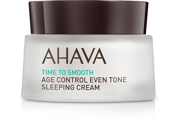 Age control Even Tone Sleeping Cream