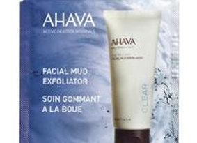 Facial Mud Exfoliator - single use
