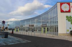 Mur rideau - Centre commercial