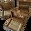 Thumbnail: Pack caja para anillos, arras y lazo pequeño