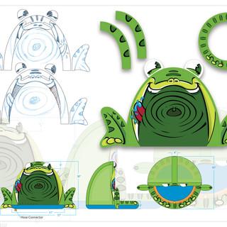 Frog Giggle 'n Splash Concept