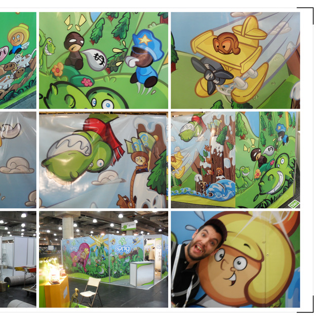 Sprig Toy Fair 2011 Booth