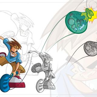 Balloon Launcher Aqua Force Graphics