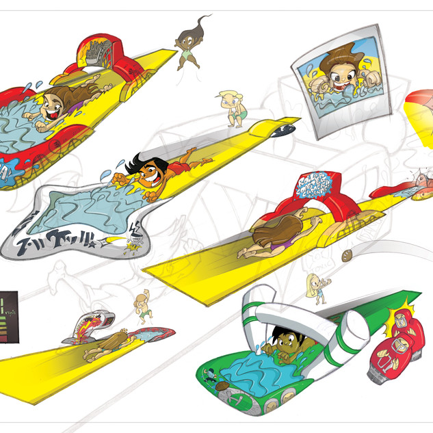 Slip 'N Slide Concepts