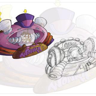 Willy Wonka Marshmallow Decorator